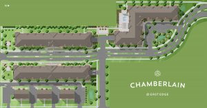 Chamberlain Apartments Map